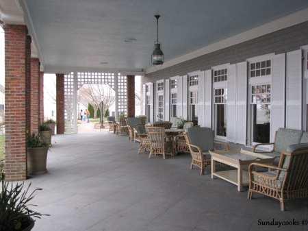 Chatham Bars Inn - varanda