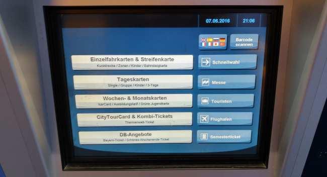 Guia completo como usar o metro de Munique - 03