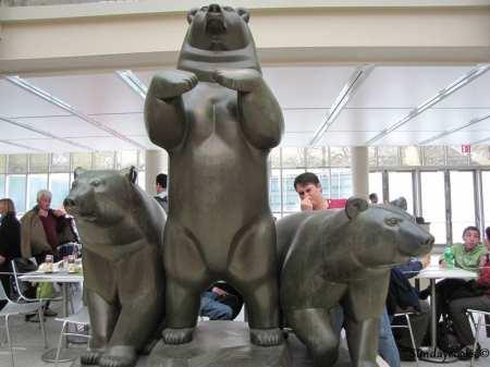 Metropolitan Museum Nova York - ursos