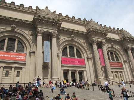 Metropolitan Museum Nova York - entrada