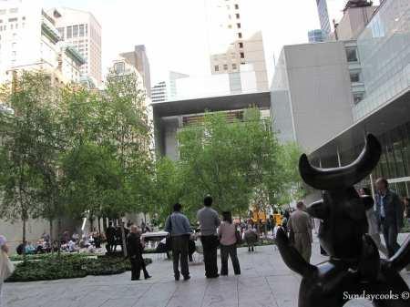 Museus em Nova York - MoMA - área externa