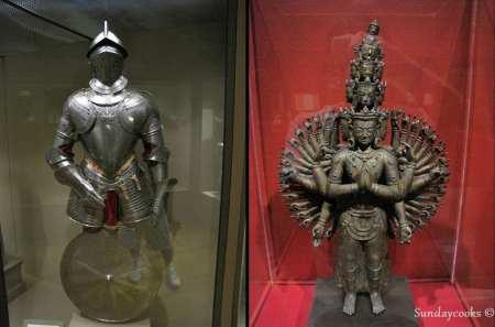 Dicas da Philadelphia - Philadelphia Museum of Art esculturas e armaduras