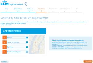Guia de viagem KLM - Passo 4