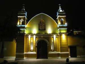 Distrito de Barranco em Lima - igreja