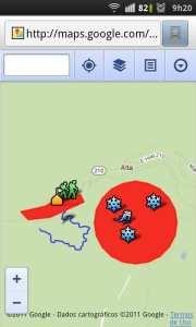 Scribble Maps - tela no smartphone 2