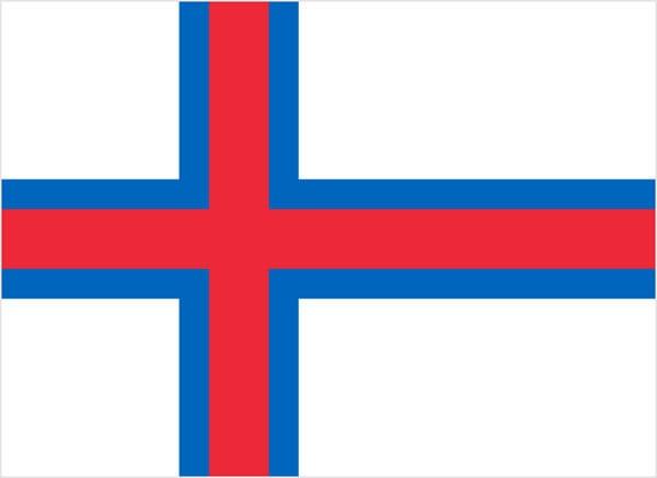Bandeira Ilhas Faroe
