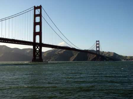 Roteiro de bicicleta por São Francisco - Golden Gate