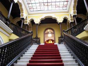 Palácio Episcopal e Catedral de Lima - Escadaria