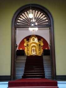 Palácio Episcopal e Catedral de Lima - passagem