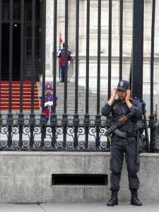 Palácio do Governo onde acontece a troca da guarda