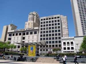 Lojas Premium Saks Tifany Williams-Sonoma da Union Square