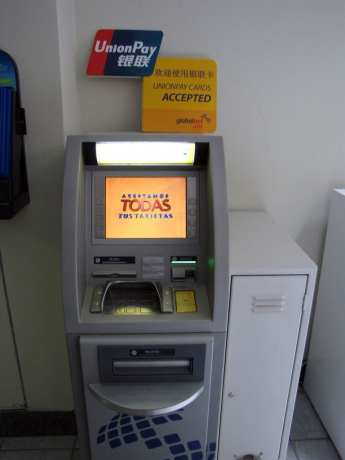 Caixa Eletrônico Union Pay Global Net