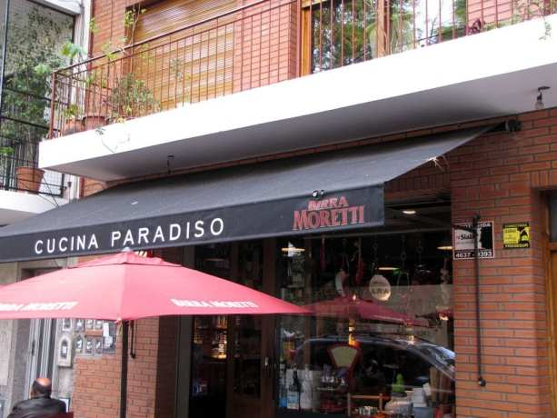 Cucina Paradiso - Palermo Hollywood - Buenos Aires