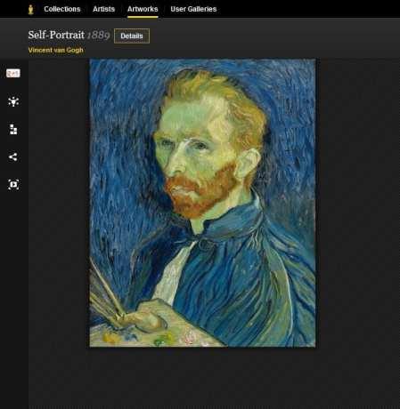 Google Arts Project: Vincent Van Gogh