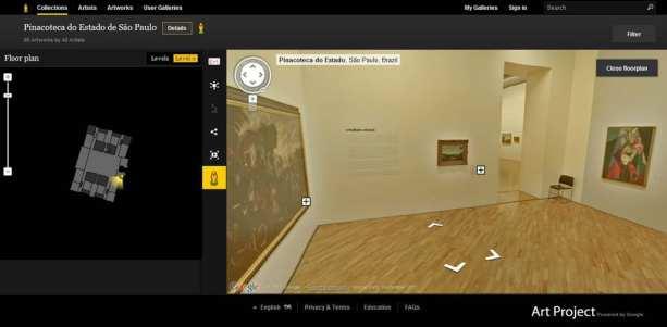 Google Arts Project: Pinacoteca do Estado de São Paulo