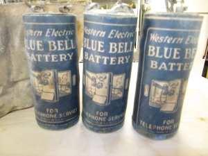 Bateria dos antigos telefontes