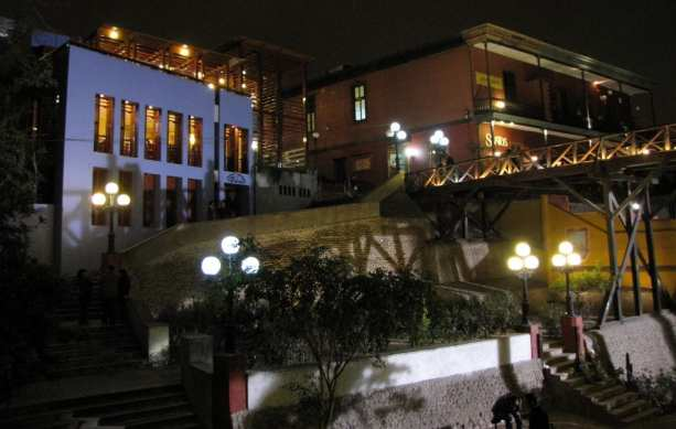 Bairro Barranco em Lima