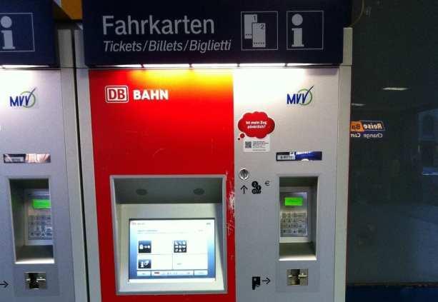 Como comprar o Bayern Ticket - Máquina de compra de tickets
