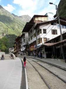 Como ir para Machu Picchu - Estação de Aguas Calientes