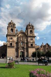 Boleto religioso de Cusco - templo de la compañía de Jesus
