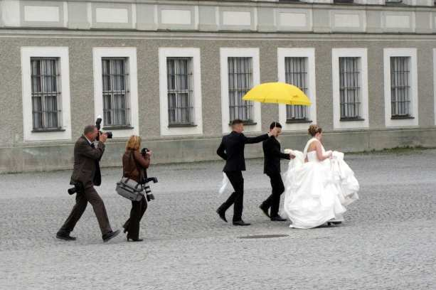 Casamento no Castelo de Nymphenburg