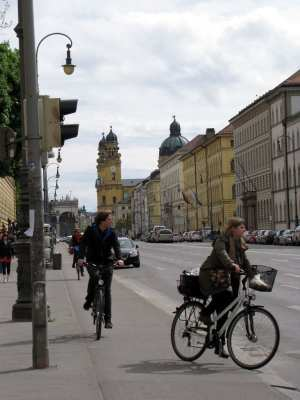 Cenas de Munique - Bicicletas em Munique