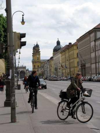 Bicicletas em Munique