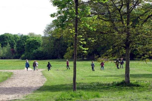 Correndo pelo English Garden