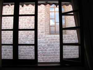 Onde ficar em Cusco - Vista da janela Loreto Boutique Hotel