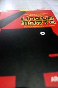 Livros para presentear - Pequeno dicionário da língua morta