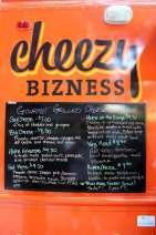 Food Truck Cheezy Bizness - Menu