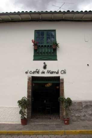 Restaurantes em Cusco - El café de mamá Oli