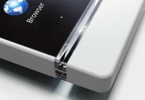 Sony Xperia S - Linha transparente