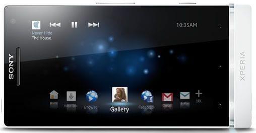 Sony Xperia S - Tela