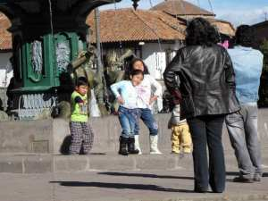 Cenas de Cusco - Me dê sua força Pégasus!