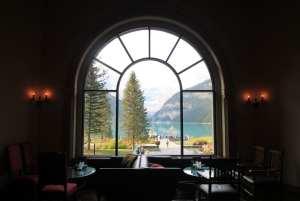 Lagos do Canada - Café do Fairmont Château Lake Louise