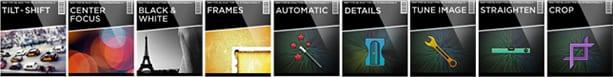Snapseed: algumas opções de filtros