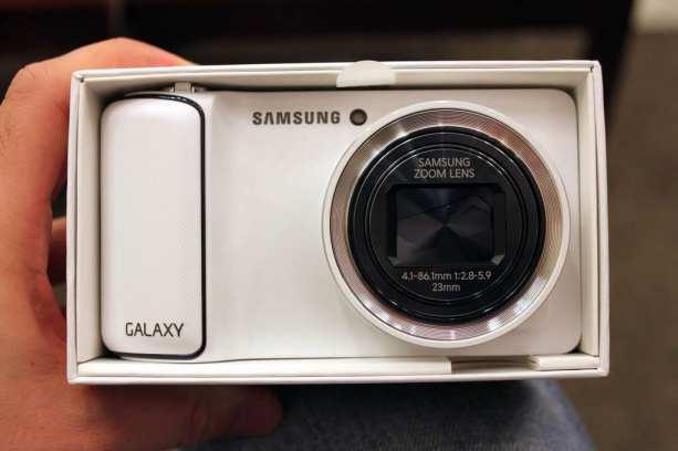 Samsung Galaxy Camera - frente