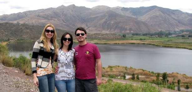 Agência de viagem do Peru - Parada para foto