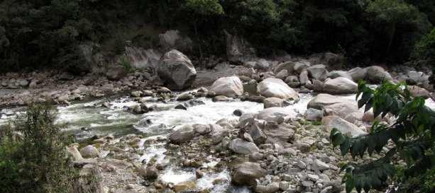Aguas Calientes - Rio Urubamba