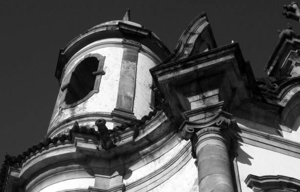 Ouro Preto na Pascoa - detalhes da Igreja São Francisco de Assis