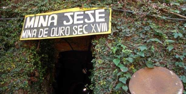 Ouro Preto na Pascoa - Mina do Jeje