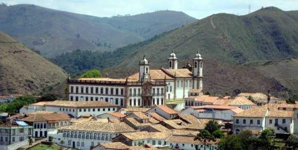 Ouro Preto na Pascoa - Museu da Inconfidência e Igreja do Carmo
