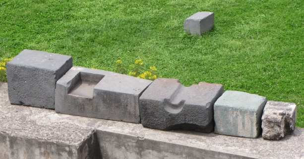 Valle Sagrado - Qorikancha - trabalho com pedras