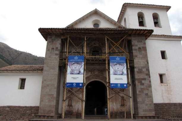 Valle Sagrado - Andahuaylillas - Igreja espanhola