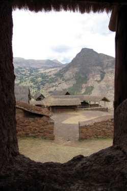 Valle Sagrado - Pisac - interior das ruínas
