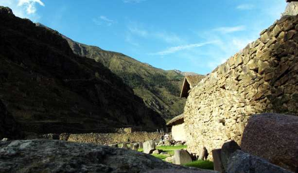 Valle Sagrado - Ollantaytambo - mais ruínas