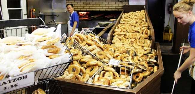 Comer bem em Montreal - St. Viateur Bagel