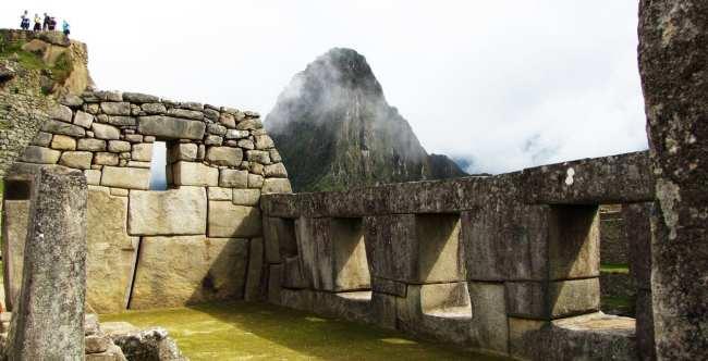 Machu Picchu - Huayna Picchu estava mais tímida