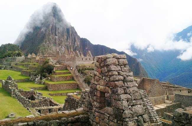 Machu Picchu - casas Incas